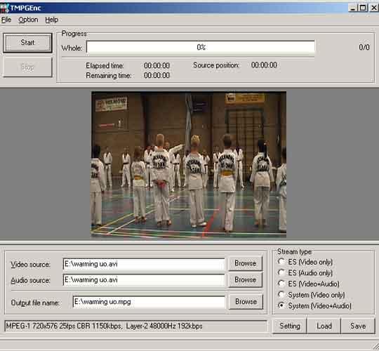 TMPEnc levert dvd's van een prima kwaliteit af.